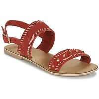 Pantofi Femei Sandale și Sandale cu talpă  joasă Betty London IKARI Roșu