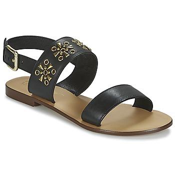 Pantofi Femei Sandale și Sandale cu talpă  joasă Betty London IKIMI Negru