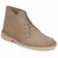 Pantofi Bărbați Ghete Clarks DESERT BOOT Bej-nisip