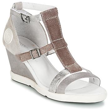 Pantofi Femei Sandale și Sandale cu talpă  joasă Pataugas WAMI-F2B Gri