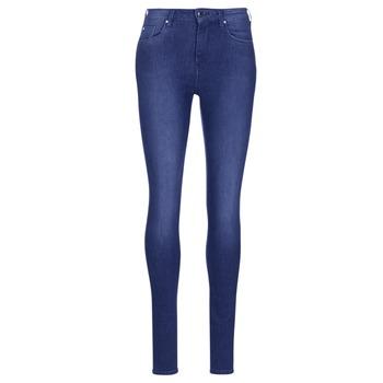 Îmbracaminte Femei Jeans skinny Pepe jeans REGENT Albastru / Ce2 / Cristale / Swarorsky