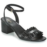 Pantofi Femei Sandale și Sandale cu talpă  joasă MICHAEL Michael Kors BELLA FLEX MID Negru