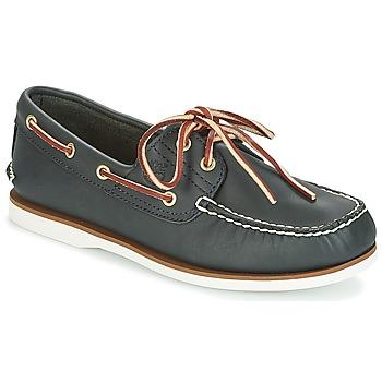 Încăltăminte Bărbați Pantofi barcă Timberland CLASSIC 2 EYE Albastru