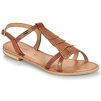 Pantofi Femei Sandale și Sandale cu talpă  joasă Les Tropéziennes par M Belarbi BELIE Tan