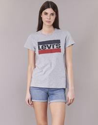 Îmbracaminte Femei Tricouri mânecă scurtă Levi's THE PERFECT TEE Gri