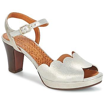 Încăltăminte Femei Sandale și Sandale cu talpă  joasă Chie Mihara UNDIA Argintiu