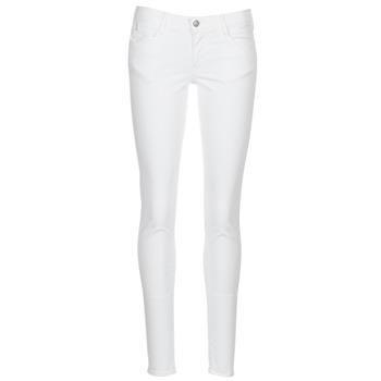 Îmbracaminte Femei Pantalon 5 buzunare Le Temps des Cerises 316 Alb