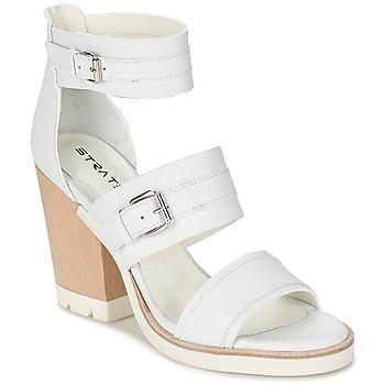 Pantofi Femei Sandale și Sandale cu talpă  joasă Strategia BARREA Alb