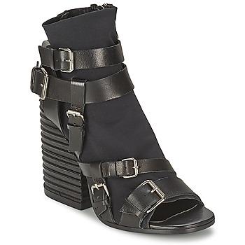 Pantofi Femei Botine Strategia BUGNARA Negru