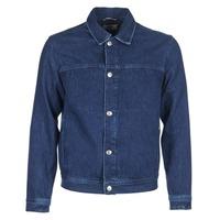 Îmbracaminte Bărbați Jachete Denim Tommy Jeans TJM STREET TRUCKER JKT Albastru / Medium