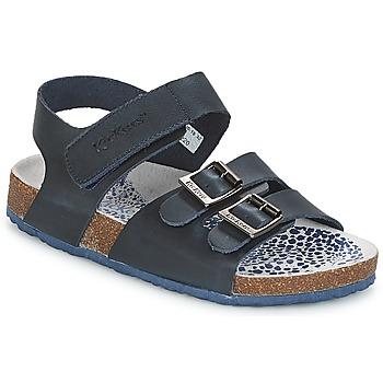Pantofi Băieți Sandale și Sandale cu talpă  joasă Kickers MAGINATION Bleumarin