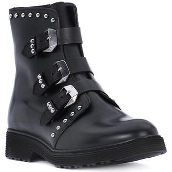 Pantofi Fete Botine Cult ROSE BLACK Nero