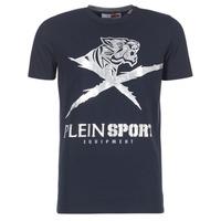 Îmbracaminte Bărbați Tricouri mânecă scurtă Philipp Plein Sport BORIS Bleumarin / Argintiu