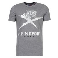 Îmbracaminte Bărbați Tricouri mânecă scurtă Philipp Plein Sport BORIS Gri / Argintiu