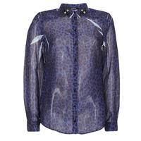 Îmbracaminte Femei Cămăși și Bluze Guess BORICE Albastru