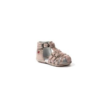 Pantofi Fete Sandale și Sandale cu talpă  joasă GBB SAMIRA Vte / Roz / Chair / Dpf / Zabou