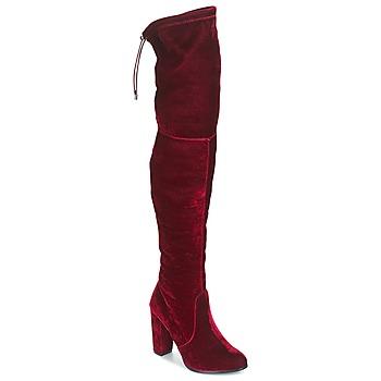 Pantofi Femei Cizme lungi peste genunchi Buffalo  Roșu