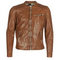 Îmbracaminte Bărbați Jachete din piele și material sintetic Redskins CROSS Coniac