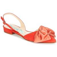 Pantofi Femei Sandale și Sandale cu talpă  joasă Paco Gil MARIE TOFLEX Roșu