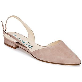 Pantofi Femei Sandale și Sandale cu talpă  joasă Paco Gil MARIE TOFLEX Nude