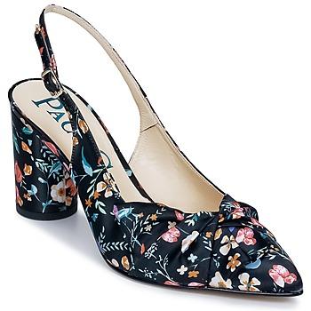 Pantofi Femei Sandale și Sandale cu talpă  joasă Paco Gil CLAIRE TOFLEX Negru
