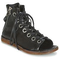 Încăltăminte Femei Sandale și Sandale cu talpă  joasă Airstep / A.S.98 RAMOS Negru