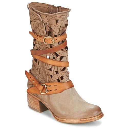 Pantofi Femei Ghete Airstep / A.S.98 CRUZ Bej