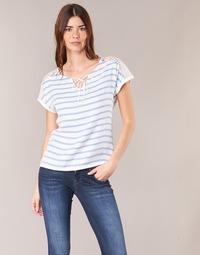 Îmbracaminte Femei Topuri și Bluze Casual Attitude IYUREOL Alb / Albastru
