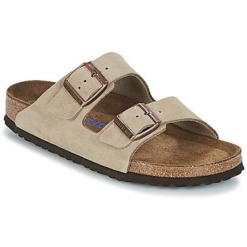 Pantofi Femei Papuci de vară Birkenstock ARIZONA SFB Taupe