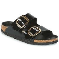 Pantofi Femei Papuci de vară Birkenstock ARIZONA BIG BUCKLE Negru