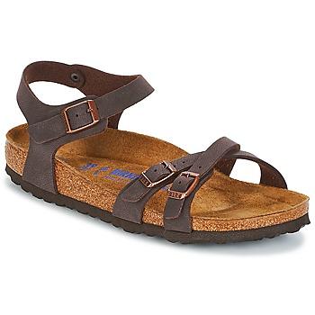 Încăltăminte Femei Sandale și Sandale cu talpă  joasă Birkenstock KUMBA SFB Maro