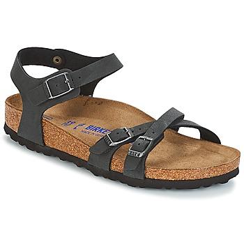 Pantofi Femei Sandale și Sandale cu talpă  joasă Birkenstock KUMBA SFB Negru