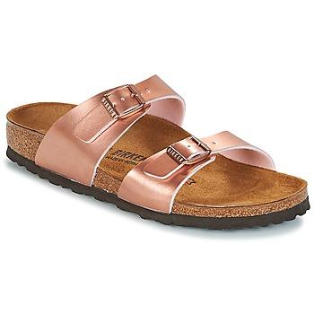 Pantofi Femei Papuci de vară Birkenstock SYDNEY Roz / Gold