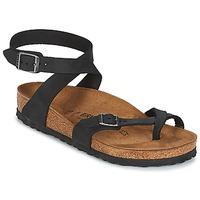 Pantofi Femei Sandale și Sandale cu talpă  joasă Birkenstock YARA Negru