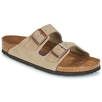 Pantofi Bărbați Papuci de vară Birkenstock ARIZONA SFB Taupe
