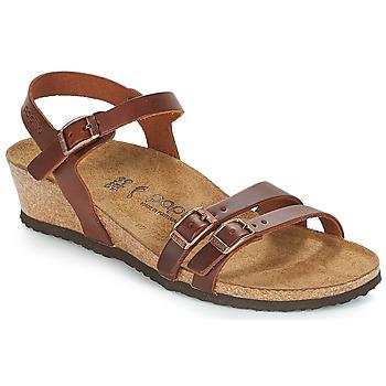 Pantofi Femei Sandale și Sandale cu talpă  joasă Papillio LANA Coniac