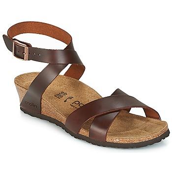 Pantofi Femei Sandale și Sandale cu talpă  joasă Papillio LOLA Coniac