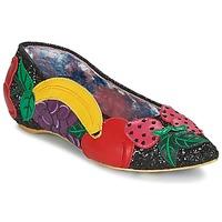 Pantofi Femei Balerin și Balerini cu curea Irregular Choice BANANA BOAT Negru