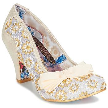 Încăltăminte Femei Pantofi cu toc Irregular Choice PALM COVE Bej