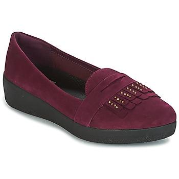 Pantofi Femei Balerin și Balerini cu curea FitFlop LOAFER Violet