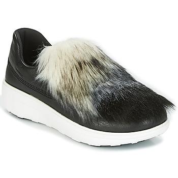 Pantofi Femei Pantofi Slip on FitFlop LOAFER Negru