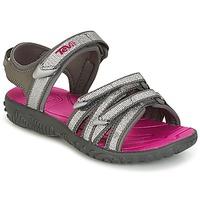 Pantofi Fete Sandale  Teva TIRRA Argintiu / Magenta