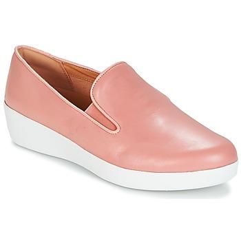 Încăltăminte Femei Pantofi Slip on FitFlop SUPERSKATE Roz