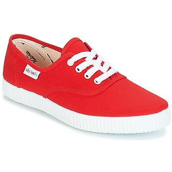 Încăltăminte Pantofi sport Casual Victoria INGLESA LONA Roșu