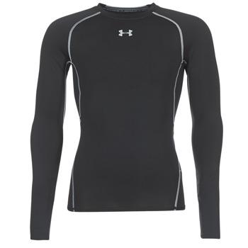 Îmbracaminte Bărbați Tricouri cu mânecă lungă  Under Armour LS COMPRESSION Negru