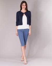 Îmbracaminte Femei Pantaloni trei sferturi Vero Moda VMHOTSEVEN Albastru