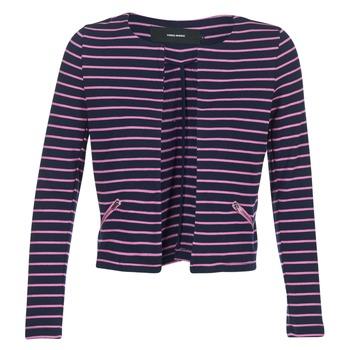 Îmbracaminte Femei Sacouri și Blazere Vero Moda VMULA Bleumarin / Roz