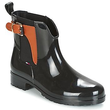 Încăltăminte Femei Cizme de ploaie Tommy Hilfiger OXLEY Negru