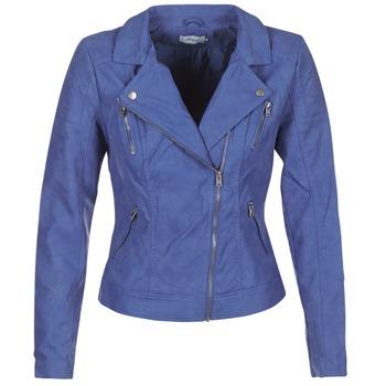 Îmbracaminte Femei Jachete din piele și material sintetic Only STEADY Albastru