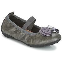 Pantofi Fete Balerin și Balerini cu curea Geox J PIUMA BALLERINES Gri